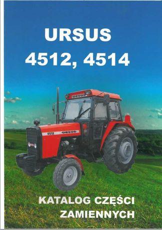 Katalog części Ursus 4512, 4514