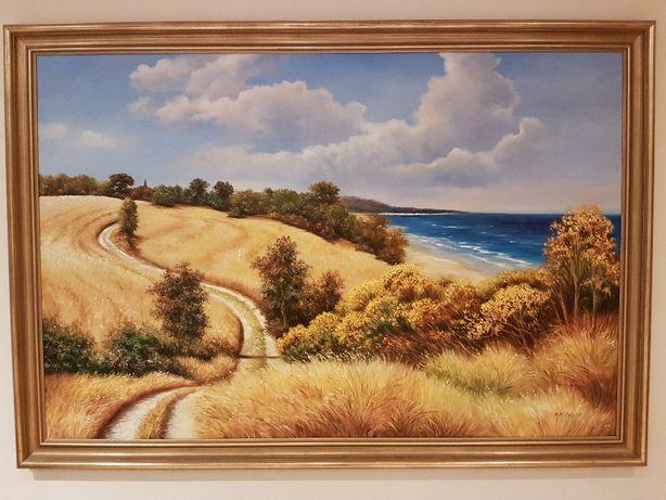 obraz olejny Toskania Matejko na płótnie 100x150cm
