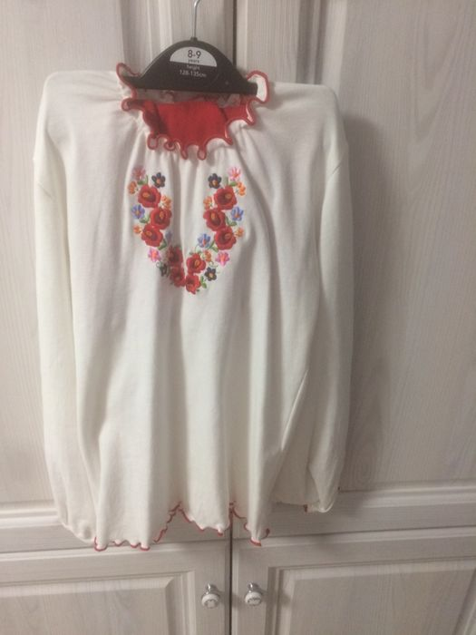Вышиванка + юбка на 122 примерно Софиевская Борщаговка - изображение 1