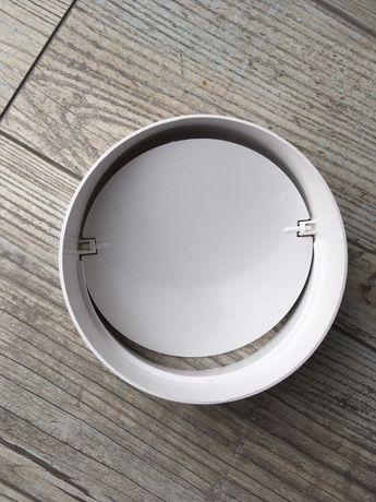 Łącznik kanału wentylacyjnego 120 z zaworem zwrotnym okrągły