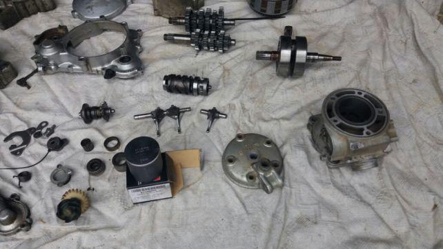 Części Yamaha YZ125