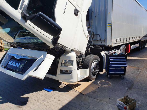 Diagnostyka komputerowa samochodów ciężarowych, dostawczych  i naczep