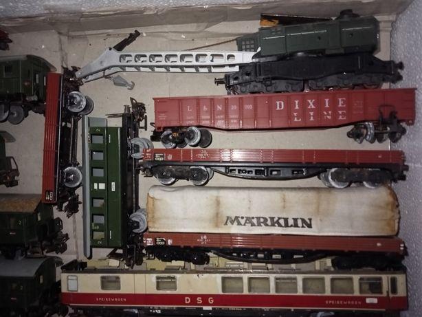 Marklin Fleischmann Piko Roco Lima Wagon lokomotywa Dźwig szutrowy itd