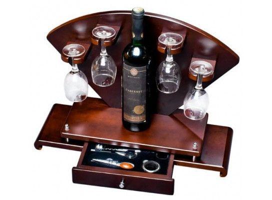Мини - бар с приборами Сомелье + бокалы 113-1081895