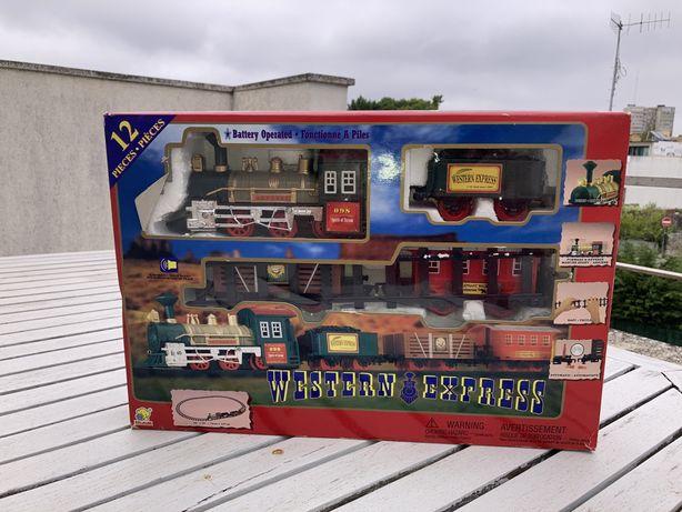 Comboio para brincar ou colecionar