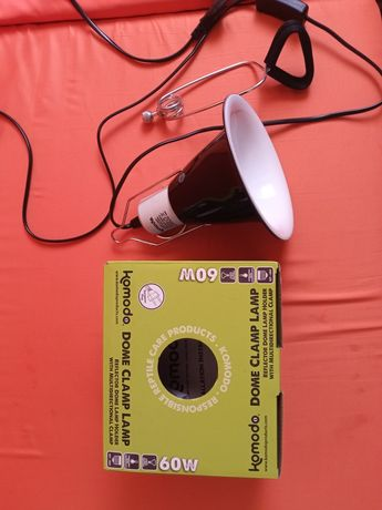 Refletor lâmpada c/ suporte 60w
