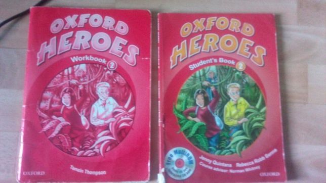 Oxford heroes workbook 2, student's book 2, angielski