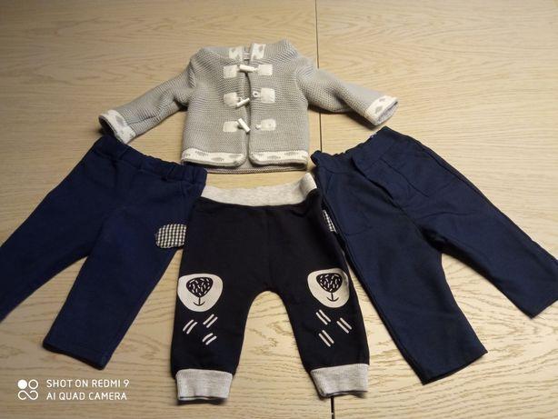 Ubranka dla chłopczyka rozmiar 56 eleganckie