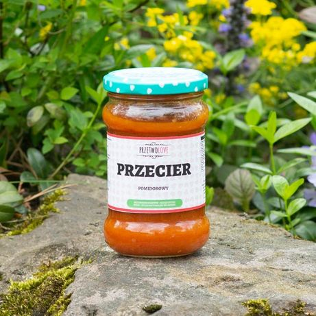Przecier pomidorowy - domowe przetwory