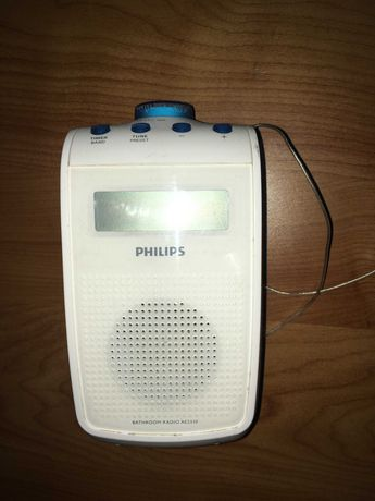 Radio prysznicowe Philips wodoodporne