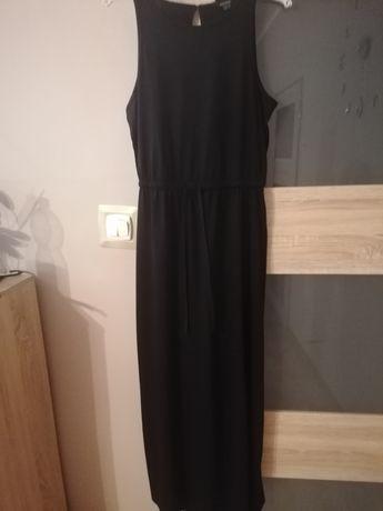 Sukienka czarna dresowa