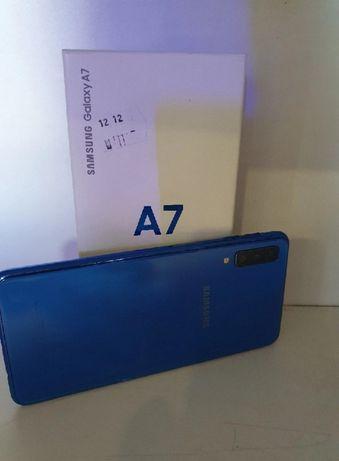 Samsung A7 2018, piękny zadbany