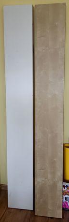 Półka Lack 190 cm 4 szt. IKEA biała dąb