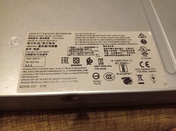 Сервер HPE DL20 Gen9