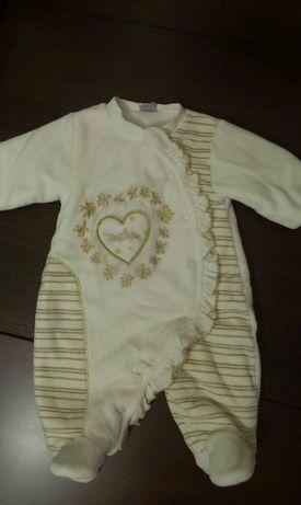 Демисезонный костюм для новорожденных