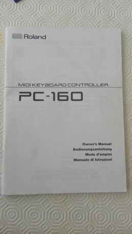 Manual midi keyboard controler PC-160