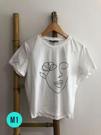 T-Shirts: M/L | Mango, Shein & Outras