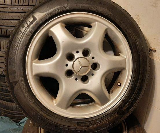 Opony Michelin 205/55/16 z felgami ALU Mercedes w203