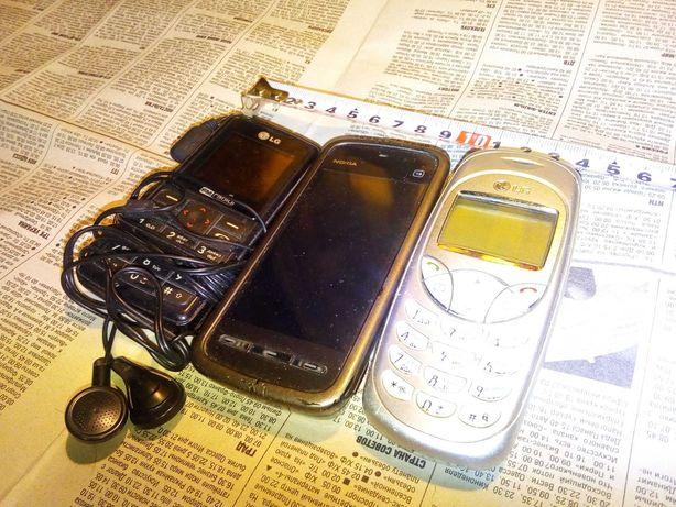 Набор мобильных телефонов под востановоение
