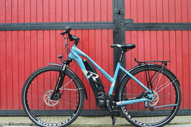 Велосипед електро Raymon Tourray E 5.0 ( Тест пробіг)