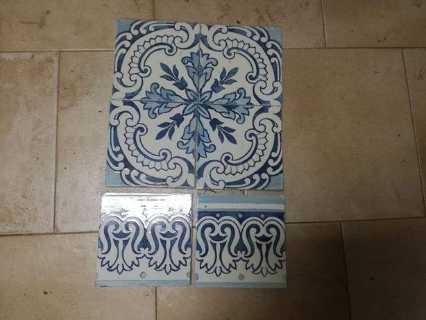 Vendo painel de 6 azulejos antigos em bom estado