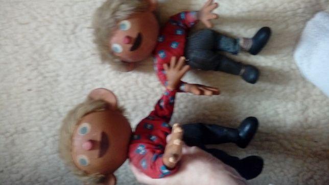 antyki juz stare lalki kolekcjonerski guma głowa i dłonie-Jacek Placek