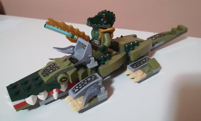 Legends of Chima Crocodile Legend Klocki Fit 70126