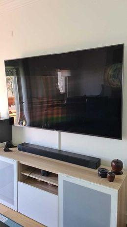 TV LCD quebrada, 80 polegadas