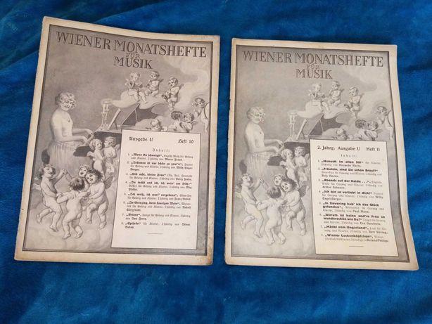 Wiener Monatshefte für Musik Heft 11, Heft 12   1929 r.