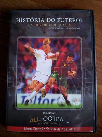 DVD: História do Futebol - Original