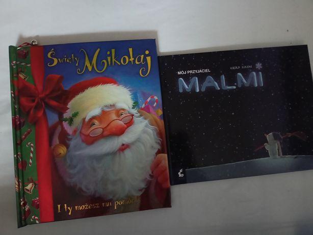 książki świąteczne Święty Mikołaj i ty możesz pomóc Malmi