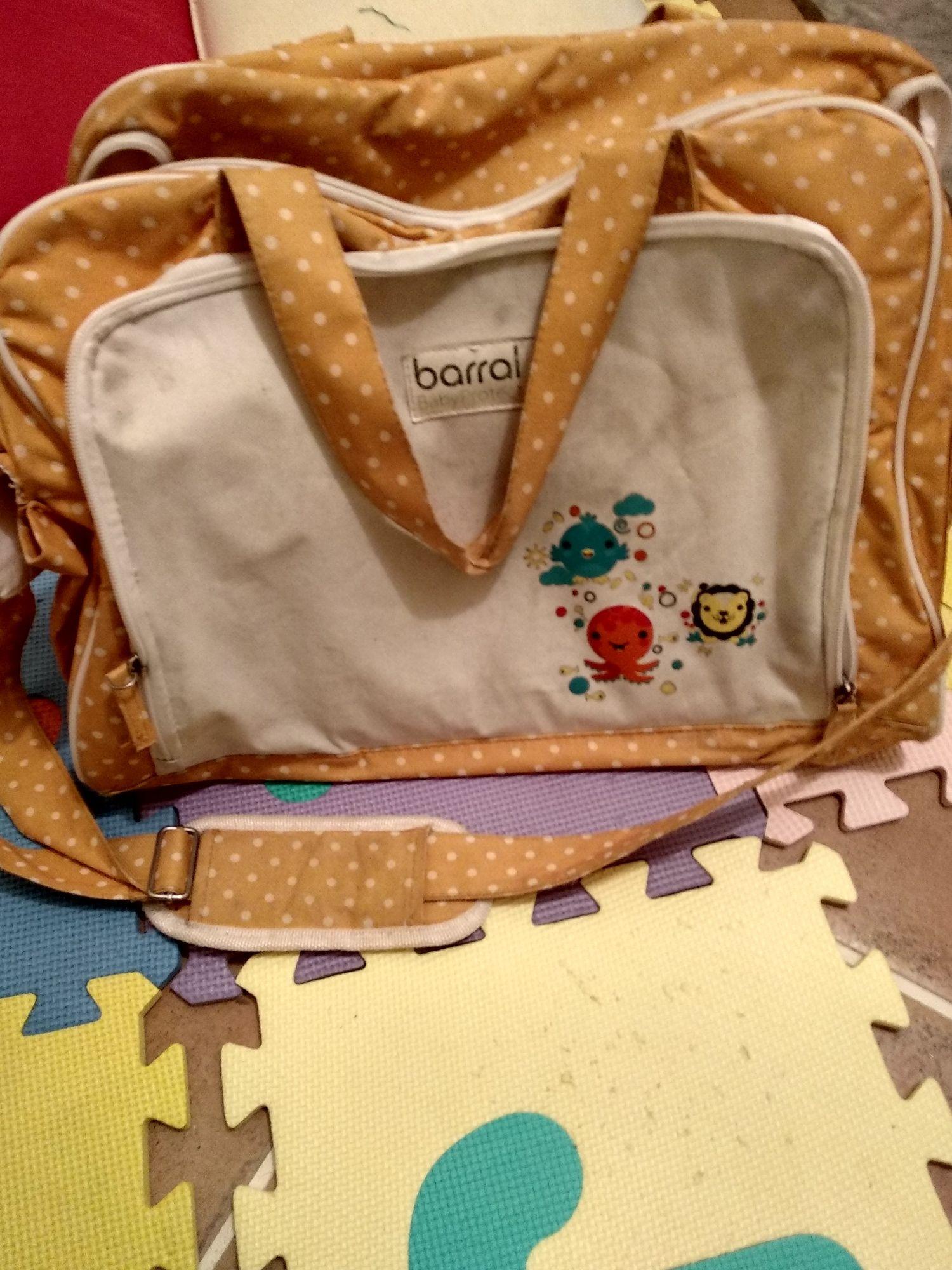 Saco de maternidade + muda-fraldas