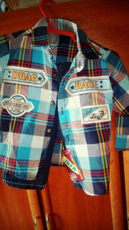костюм джинсы на мальчика нарядный на год хлопчика на рік