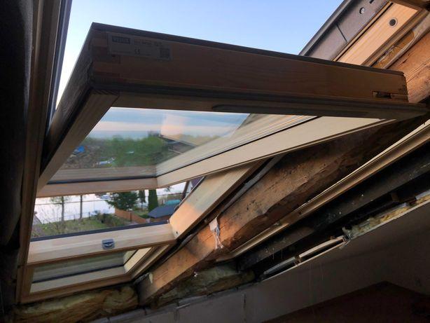 Okno dachowe Velux GLL MK10 drewniane 78x160