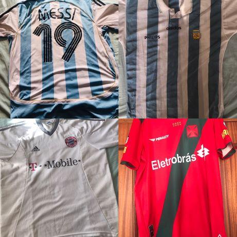 04 Camisolas de Futebol por 50€