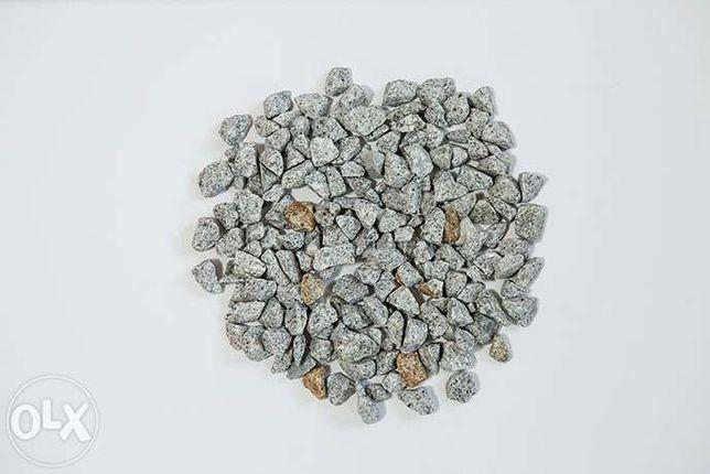 Grys Ozdobny Granit 16-22 mm inne kruszywa Piaski Żwiry Kora Gnejs