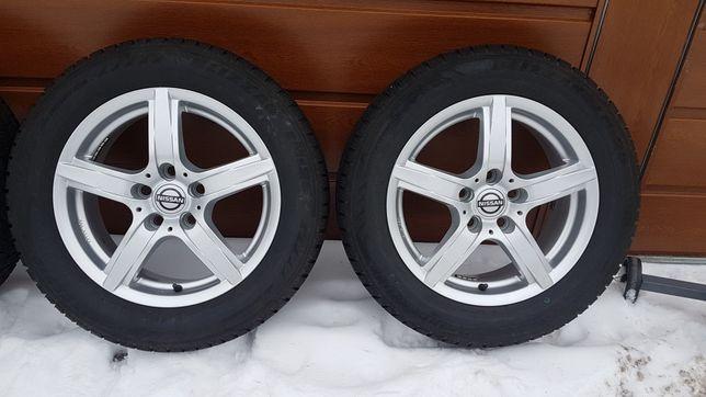 Koła zimowe Nissan 5x114.3 Gratis stojak oraz nakrętki