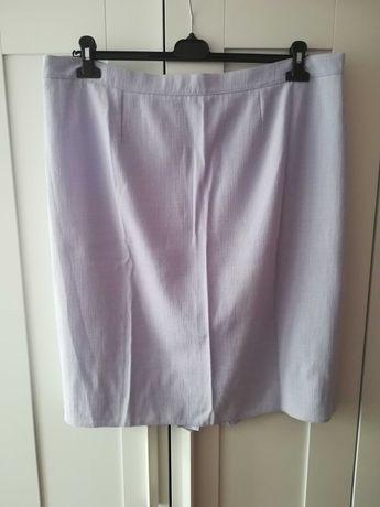 Spódnica fioletowa liliowa lila 52