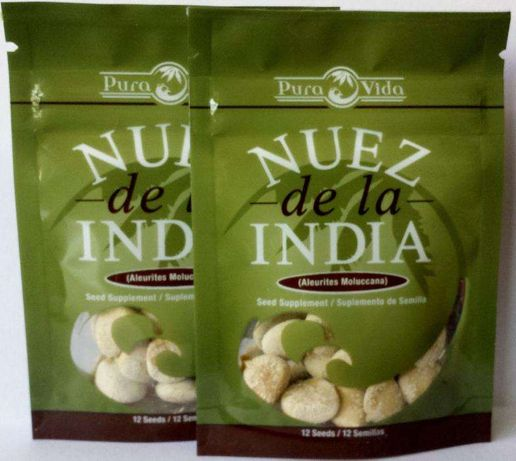 Noz da India Fresca Embalagem Selada - Perder Peso /Volume X12 SEMENTE