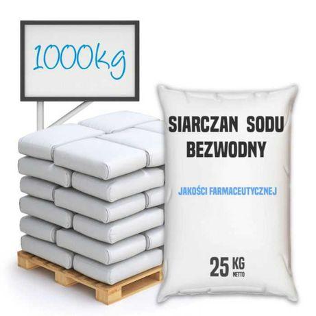 Siarczan sodu bezwodny jakości farmaceutycznej - 1000 – 24000 - Kurier