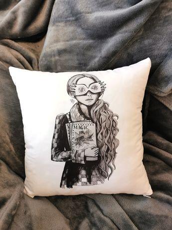 Poduszka poszewka - pomylona Luna Lovegood Harry Potter