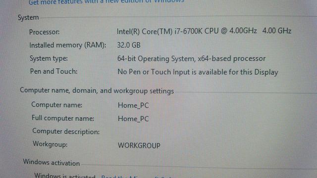 Компьютер ( системный блок + веб камера )