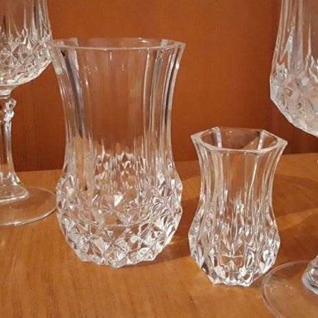 2 вазы CRISTAL D'ARQUES  Франция
