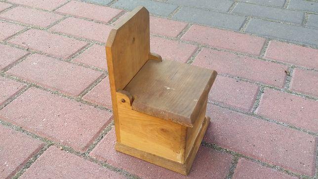 Solniczka drewniana