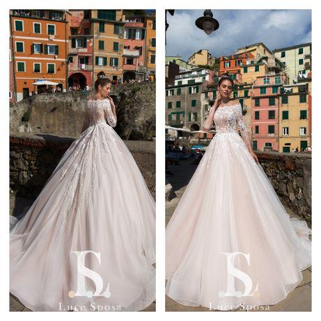 Свадебные  дизайнерское платье Luce Sposa/ Весільна сукня Luce Sposa