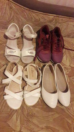 Обувь для девочки 37 размера