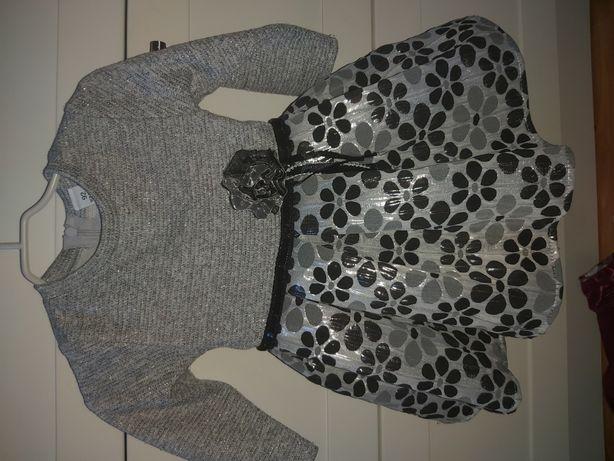 Sukienki bluzeczki dla dziewczynki r 92
