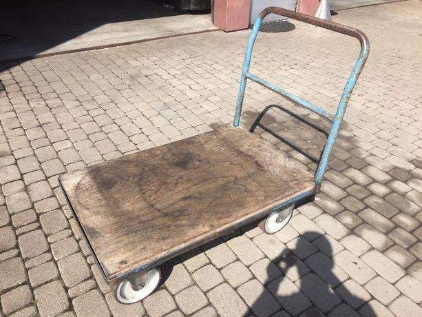Wózek transportowy 70x105 cm masywna paleta