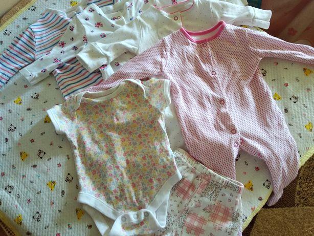 Набор одежды в роддом для маленькой принцессы