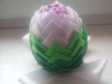 Jajko kwiaty handmade rękodzieło